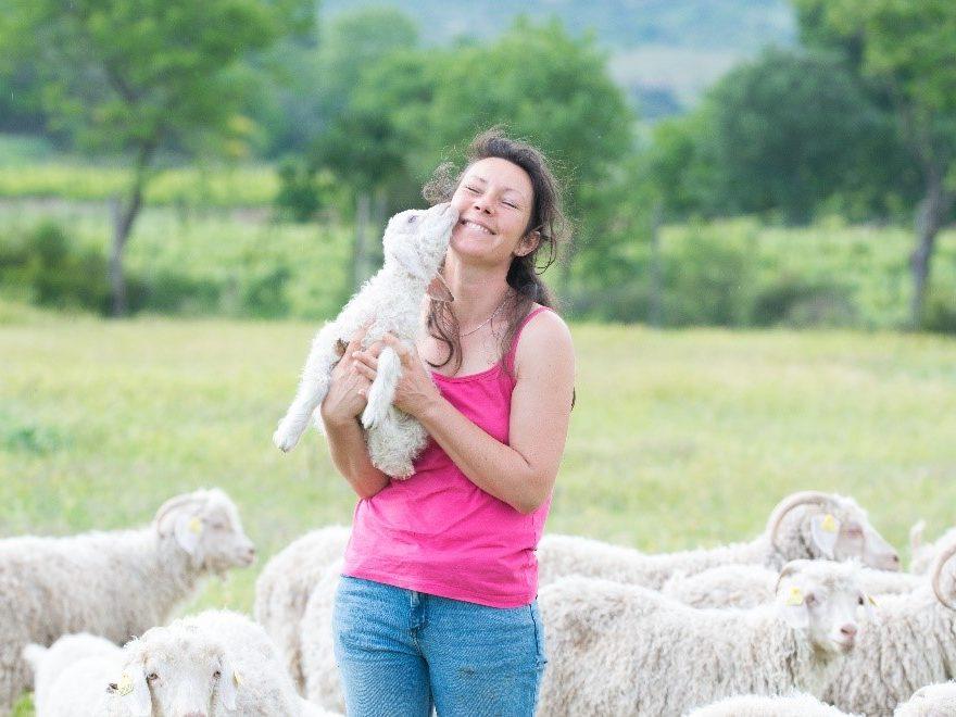 Aurélie Dumény - agroforesterie dans l'hérault